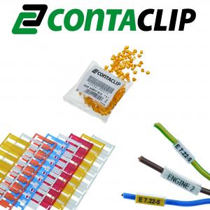 Markierungen & Beschriftungssysteme von CONTA-CLIP